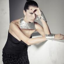 YD&YDBZ New Silver Leather Necklaces Women Choker Necklace Geometric Jewelry Punk Style Fashion Jewellery Bohemia
