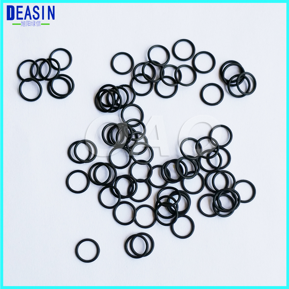 Dental Handpiece Cartridge Oring Spare Parts 100pcs A Pack
