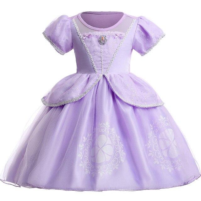 Christmas Girls Dresses New Arrival Dresses Girls Princess Anna Elsa Sfia Cosplay  Costume Kid s Party Dress Kids Girls Clothes 3c400f3d9dae