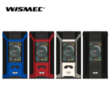 Original Wismec SINUOUS RAVAGE 230 TC Box Mod 200W Utgång VW / TC-Ni / TC-Ti / TC-SS / TCR-läge Elektronisk cigarett vape mod kit