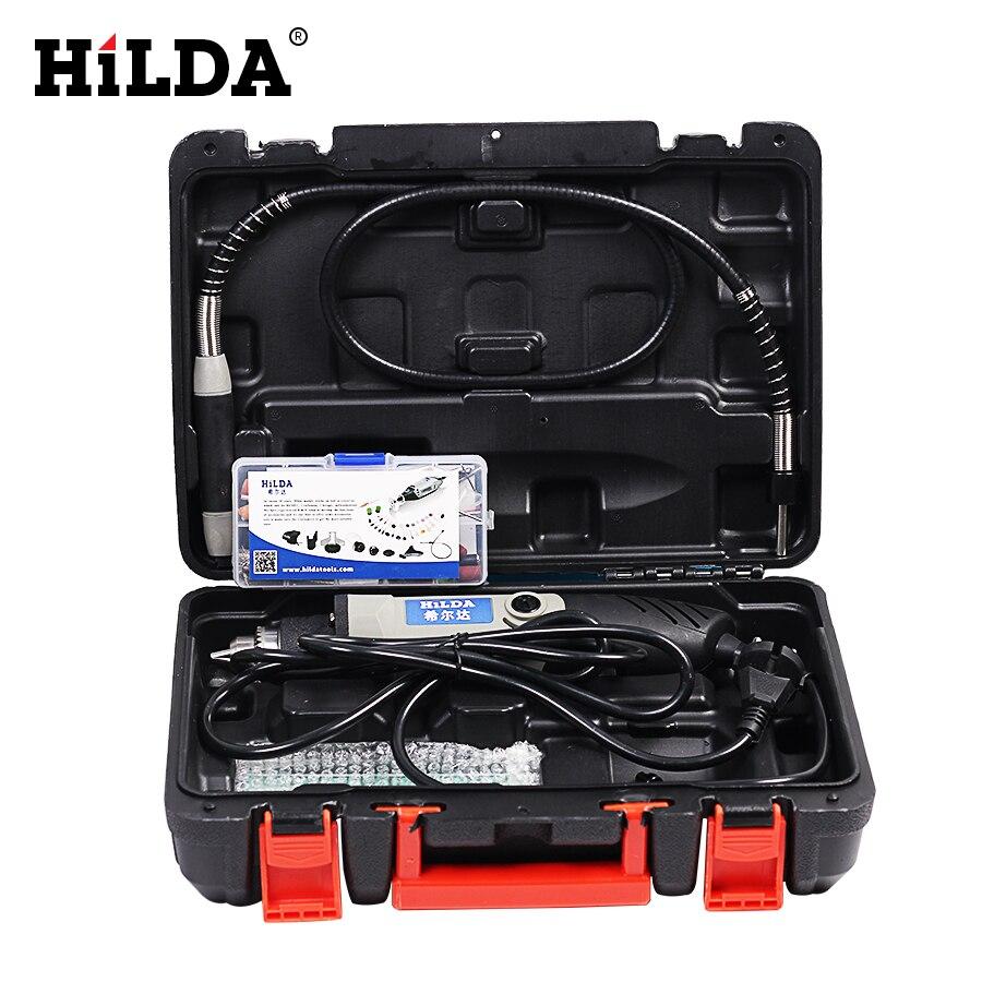 HILDA Mini perceuse électrique vitesse Variable pour Dremel outil rotatif Mini perceuse pour dremel outils électriques rectifieuse