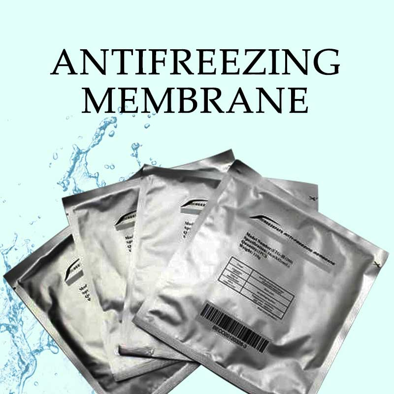 50pcs Anti Freeze Membranes Cryo Pad Bag Antifreeze Membran For Cold Therapy Unisex