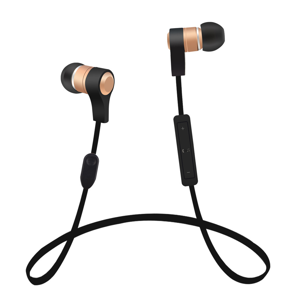 Wireless Bluetooth Headset Sport Stereo In-Ear Earphone For iPhone Samsung Huawei Hands free driving walking Sporting