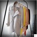 2016 Primavera Trincheira Feminino E Outono Outwear Médio-Longo das Mulheres Trincheira Outwear Senhoras Trench Coat Fino Estilo Coreano China Barato