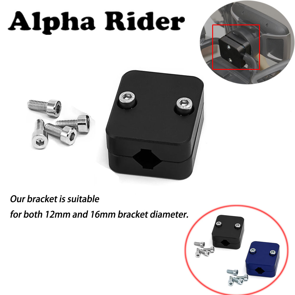 1 Piece Motorcycle Mobile Phone Navigation Holder Bracket Aluminum For BMW R1200GS R 1200 GS LC ADV Adventure F800GS Black Blue