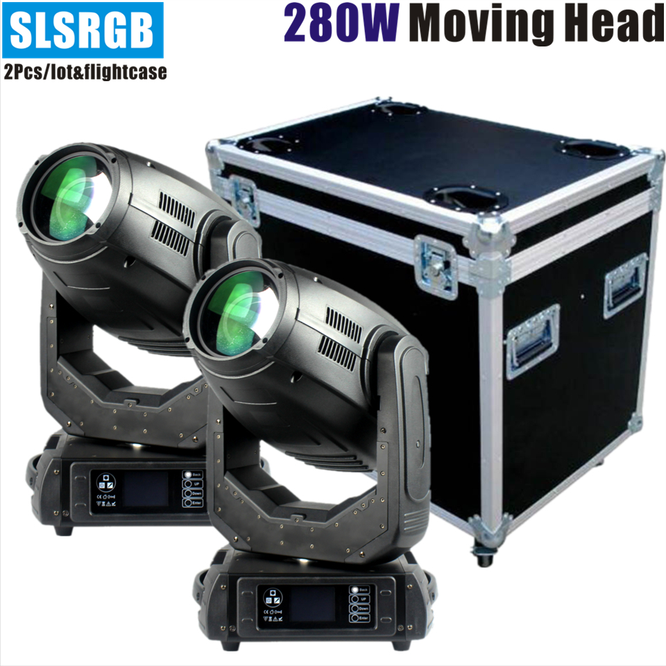 2pcs/lot&flightcase Robe pointe moving heads stage lights 280w 10r beam spot wash 3in1 moving 280w beam 10r moving head Robe