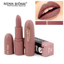 Miss Rose Matte Lipstick Waterproof Sexy Cosmetics For Makeup Easy To Wear Lipsticks Long Lasting Natural Lips Make up