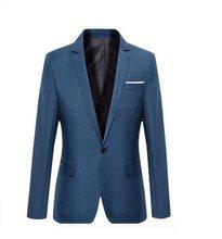 500f9368ac69b0 S-6XL suits zaken blazer nieuwe collectie casual mannelijke formele bruiloft  suits kleine jas met grote code jeugd pak 3 kleuren
