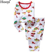 Aerocraft Baby Boys Sleepwear pijama Boy Pajamas kids pyjamas Airship Children clothing set baby home clothes t-shirt + pant