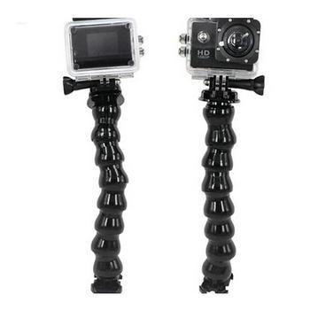 Abrazadera de cámara brazo de cuello de ganso soporte ajustable doblado para GoPro Hero 3/3 +/4