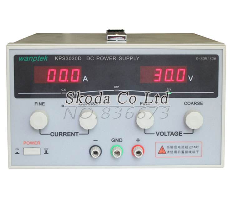 Switching power supply, 30V30A 110V/220V Input  KPS-3030D Adjustable precision Digital Switching DC power supply, Free shipping cps 6011 60v 11a digital adjustable dc power supply laboratory power supply cps6011