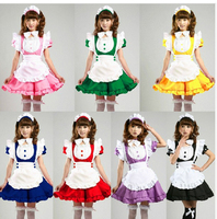 Inu X Boku SS Lovely Lolita Princess Maid Anime Waitress Cosplay Costume 7 Colors