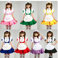 Japanese Sweet Maid Dress Inu Boku Secret Service Cosplay Maid Costumes Sexy Lolita Apron Uniform Dress Set Inu x Boku SS