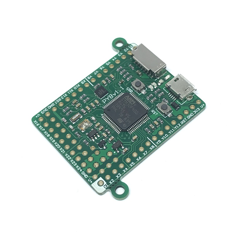 MicroPython development board PyBoard v1.1 STM32F405RG-in Replacement Parts & Accessories from Consumer Electronics