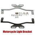 Motorcycle Light Bar Headlight Bracket Spot Fog Lights Turn Signal Steel Rod for Harley Davidson Honda Suzuki Kawasaki Yamaha