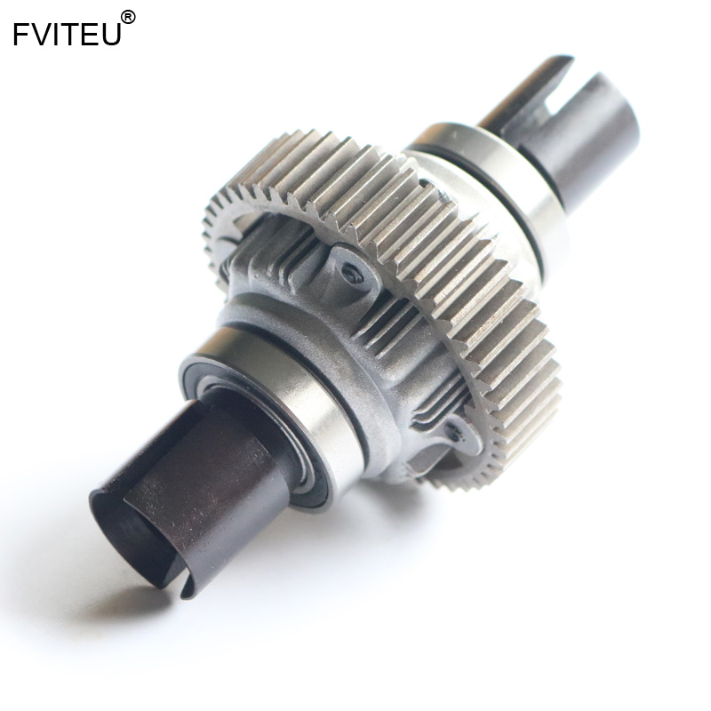 FVITEU liga Engrenagem diferencial Montado conjunto completo para 1/5 HPI Baja 5b ss 5 t rovan 5sc motor rei