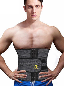 NINGMI Waist-Trainer Shapewear Slimming-Strap Corset Male Fitness Neoprene Cincher Body-Modeling-Belt