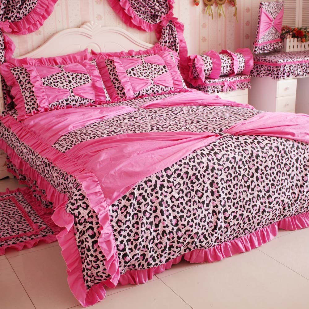 Leopard Bedding Queen Size