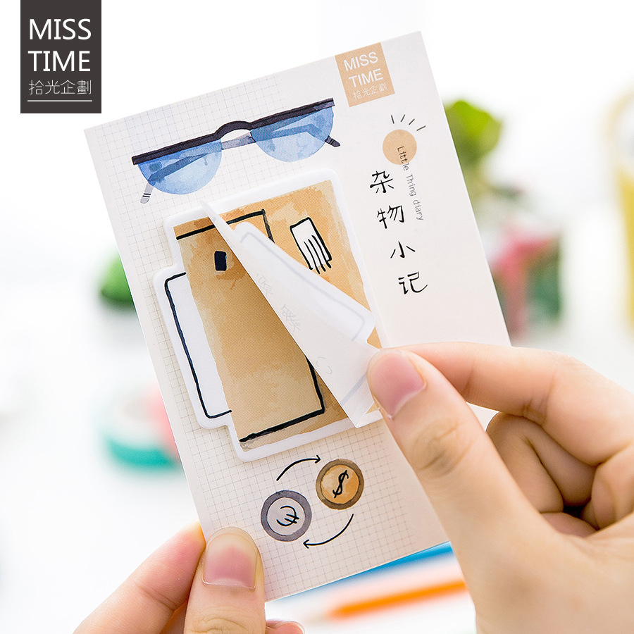 20 sets/1 lot Creative Sundry notes Memo Pad Sticky Notes Escolar Papelaria School Supply Bookmark Post it Label