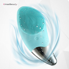 Ultrasonic Vibration Silicone Cleansing Exfoliate Smooth Skin for a Radiant Clear Complexion Personalized Facial Brush