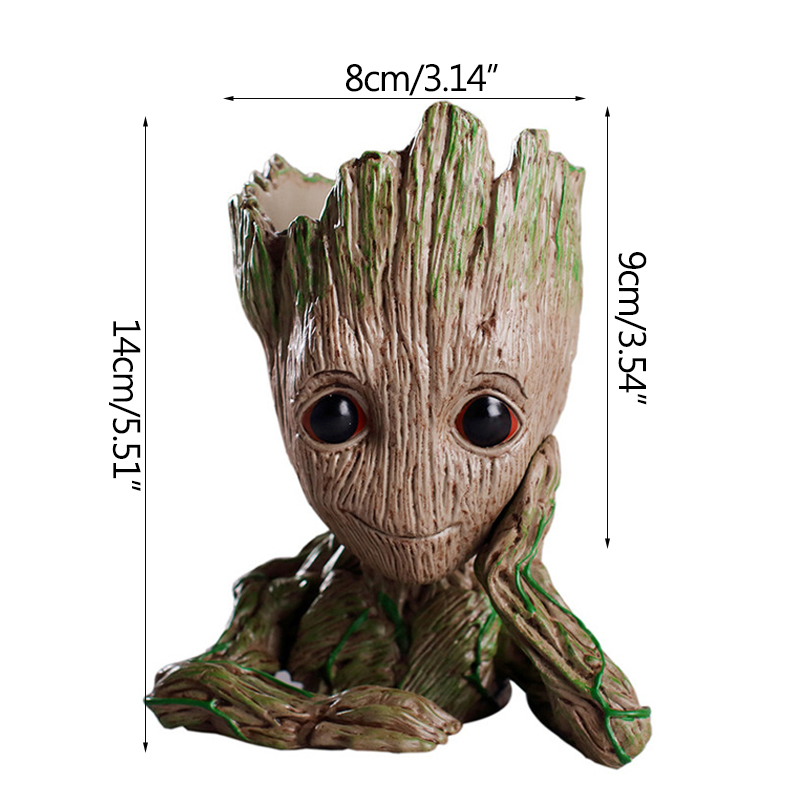 Baby Groot Flower Pot Suitable for Living Room Bed Room and study Room for Full Greenery in House 5