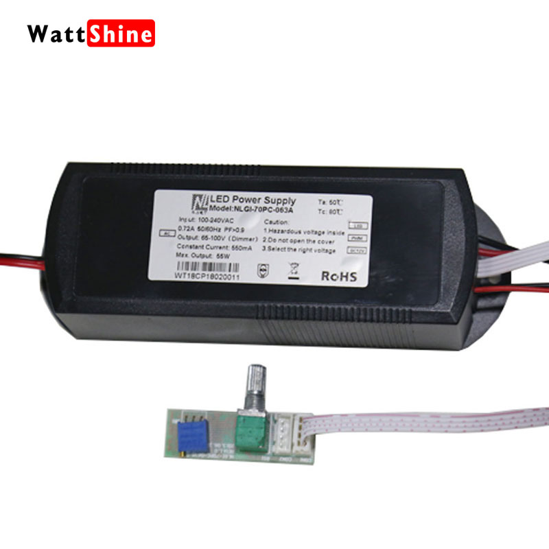 Dimming Switching Power Supply Dimmer Drive Power With control panel 100-240VAC For Wattshine MAD180 Aquarium Light