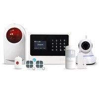 433 MHz High definition alexa system alarmowy z 8 sceny i 20 ustawienia ifttt bezprzewodowy wifi bezpieczeństwa system alarmowy w domu