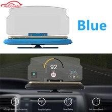 Универсальный мобильный телефон Поддержка навигации Автомобильный GPS HUD Поддержка проецирования Дисплей кронштейн держатель