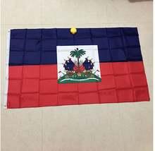 Бесплатная доставка xvggdg 90x150 см Флаг haiti 3x5 футов супер