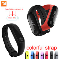 Xiaomi Mi Band 3 & 2 Smart Heart Rate Fitness Tracker Passometer Xiaomi Miband2 Wristband Bracelet with OLED Xiaomi Band 3