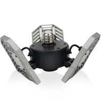 High Intensity E27 LED Bulb 60W 6000Lm Deformable Lamp SMD2835 AC110V 220V For Indoor Parking Industrial Warehouse Led Light