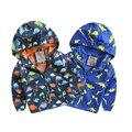 2016 Autumn Baby Boy Hooded Coat Active Jackets Softshell Jacket Kids Windbreaker