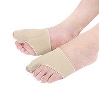 New Toe Straightener Thumb Valgus Toe Separator Hallux Relief Corrector Pad Protector Sleeve Toe Aligner 1 Pair Foot Care Tool Beauty Tools