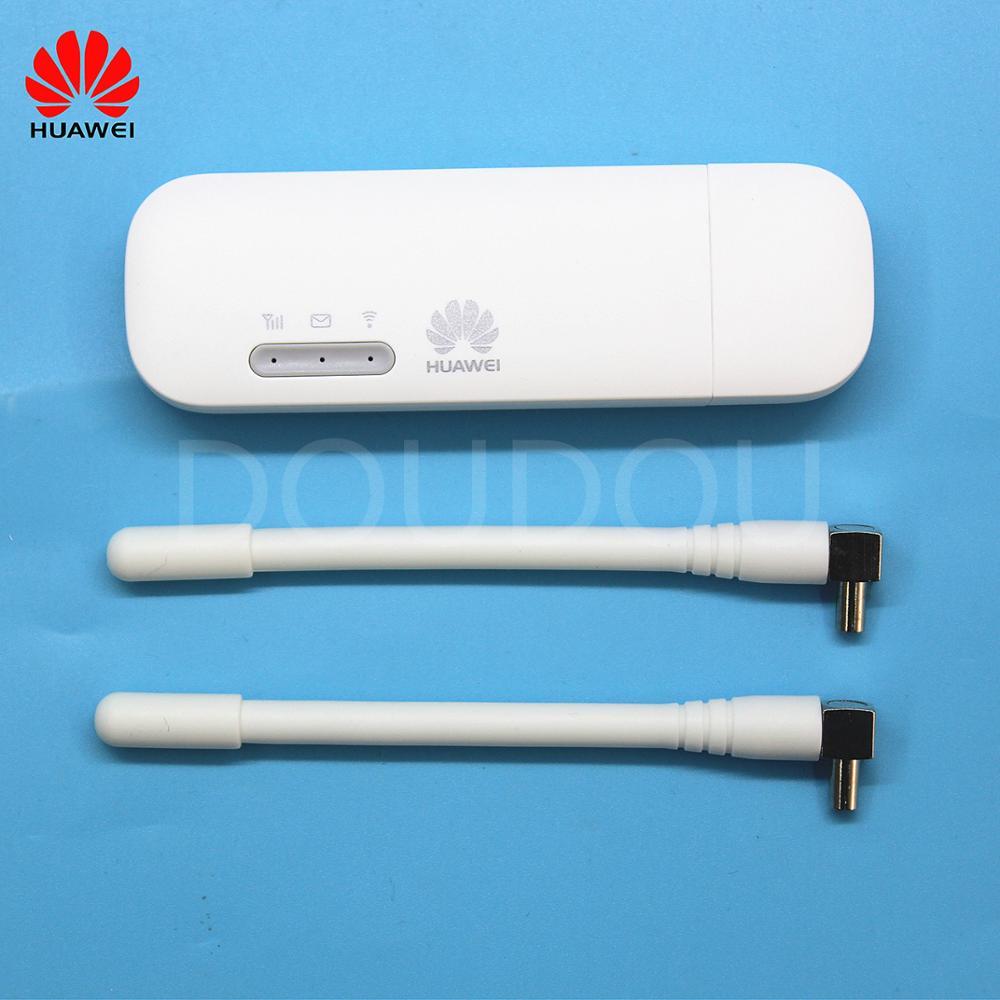 Débloqué Huawei E8372 e3372 E8372h-153 E3372h-607 avec Antenne 4G LTE 150 Mbps WiFi Modem 4G Modem USB Dongle 4G Carfi Modem