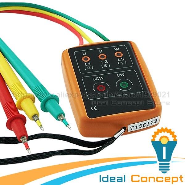 Suche Nach FlüGen 3 Phase 60 V ~ 600 V Ac Sequenz Auftrag Rotation Indicator Tester Überprüfen 20 ~ 400hz Freq Doppel Isolierung Spezieller Kauf Messung Und Analyse Instrumente Füllstandmessgeräte