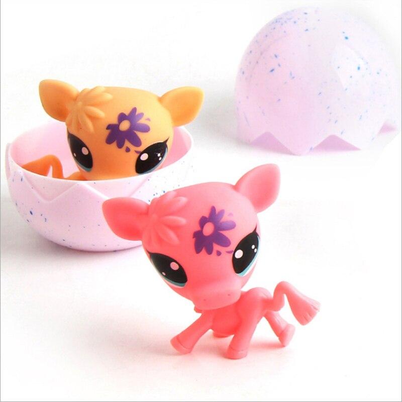 10pcs Unicorn Hatching Egg Magic Surprise Doll Pet Toy Cartoon Animal Dinosaur Eggs Ball Brinqued Kawaii Gift for Girl Children