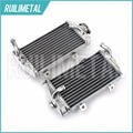 High Quality Hot Sale Left Right Aluminium Cores MX Offroad motocross cooling  Radiators for HONDA CRF250R 14 2014