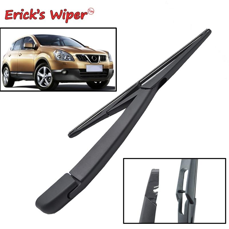 """Erick's Wiper 12"""" Rear Wiper Blade & Arm Set Kit For Nissan Qashqai Dualis J10 J11 2007 - 2018 Windshield Windscreen Rear Window"""