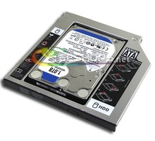 New 2nd SSD 128GB SATA3 2.5″ Optical Bay Second Solid State Disk Drive for HP Envy M6 Series M6-1205dx 1225dx 1125dx 1216tx Case