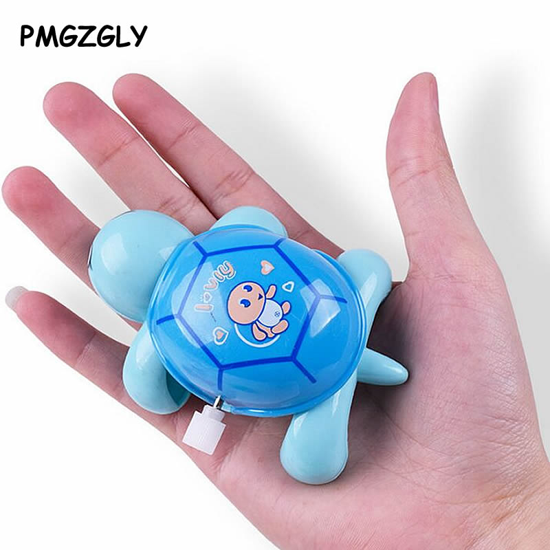 Baby Boys Girls Toys Mini Clockwork Tortoise Children Cute Animal Turtle Toy Baby Infant Wind Up Toys Random Color