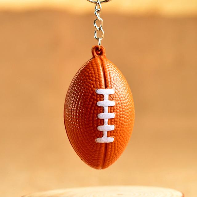 American Football Key Chain