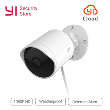 YI Открытый безопасности камера 1080 P водостойкий ночное видение беспроводной IP разрешение безопасности камера видеонаблюдения системы Global Cloud
