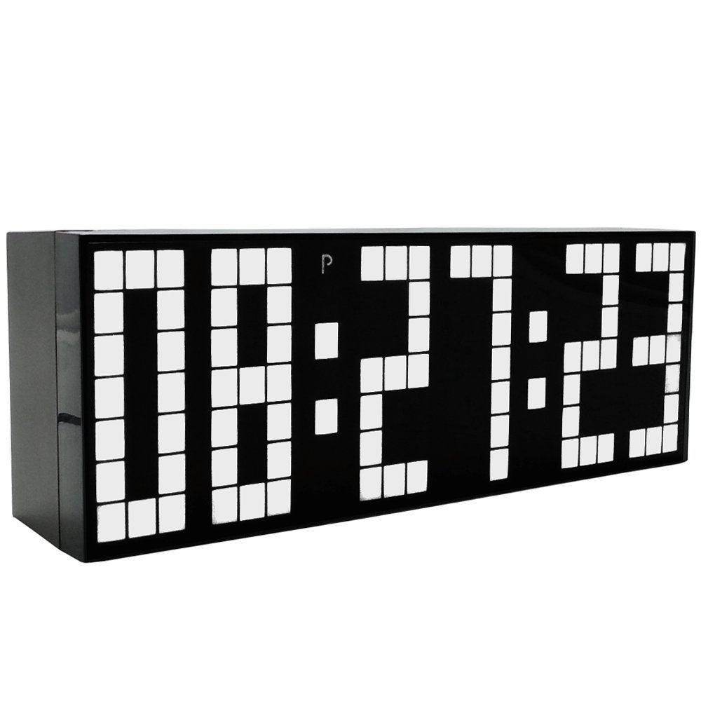 Digital Big Jumbo LED Countdown Temperaturkalender Weltzeituhr Wanduhr Wanduhr LED Wecker