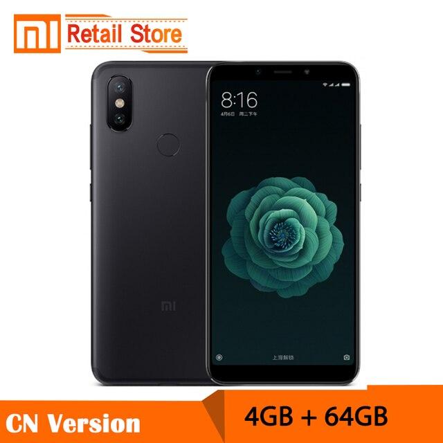 "Pre-Sale Xiaomi Mi 6X 6 X 5.99"" 18:9 Full Screen Snapdragon 660 Octa Core 4GB 64GB Dual AI Cameras 20MP Metal Body Cellphone"