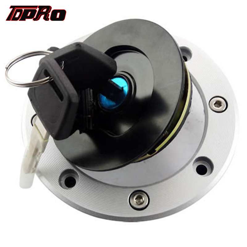 TDPRO CNC New Motorcycle Fuel Gas Tank Cap Cover With Keys For Suzuki GS500 RGV250 GS600F GSF1200 Bandit 1200 TL1000R GSXR1000
