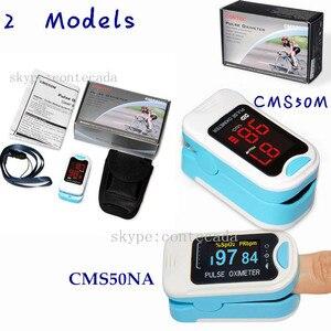 CMS50M/NA oxímetro de pulso Punta del dedo, Monitor de oxígeno en sangre, Monitor Spo2, funda de transporte, cordón, gran oferta CE CONTEC