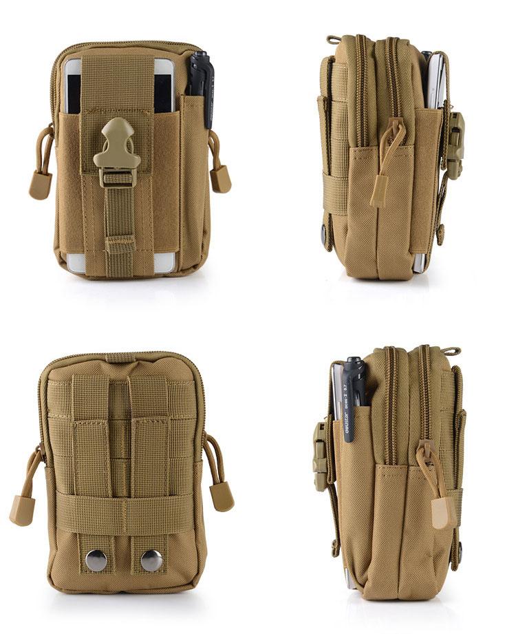 купить outdoors Waist Bags Waterproof Men Casual Waist Pack nylon Work Waist Bag Army Military Small bags Tool Bag недорого