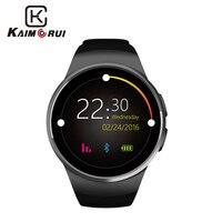 Kaimorui KW18 Smart Watch Passometer Heart Rate Support SIM TF Card Men SmartWatch Bluetooth for Xiaomi Huawei IOS Smart Phone