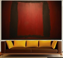 Mark Rothko Still life Classical oil Painting Drawing art Unframed Canvas gemstone wall airbrush iron children