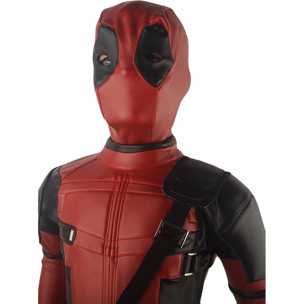 Dzieci Chłopcy X-Men Deadpool Wade Wilson Strój Jednolite - Kostiumy - Zdjęcie 4